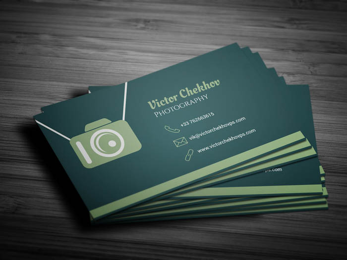 Wedding Photography Business Card - Back