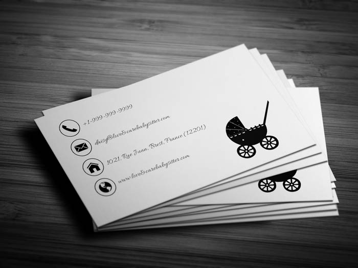 Daycare Business Card - Back