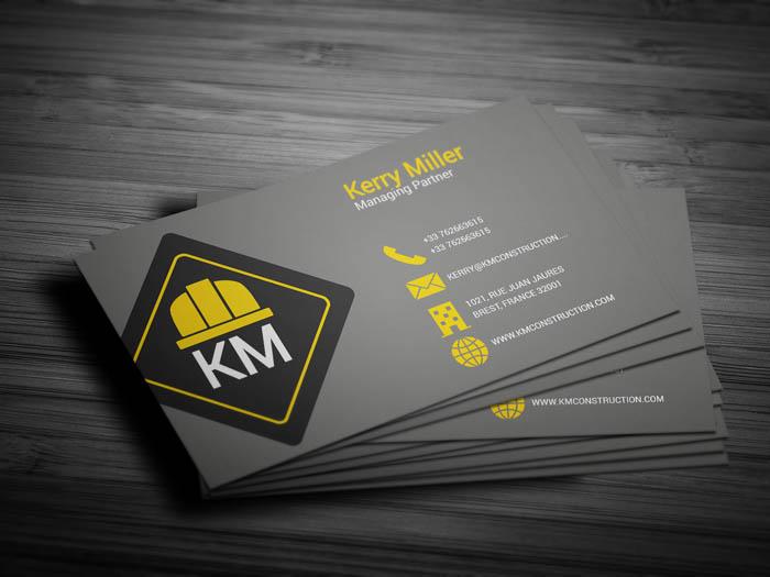 Renovation Business Card - Back