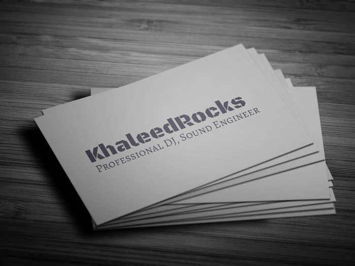 Free party dj business card template party dj business card back flashek Gallery