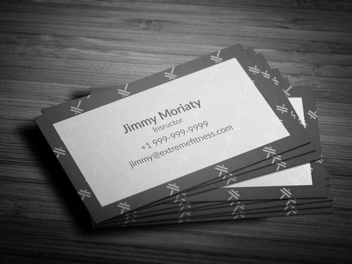 Pilates Business Card - Back