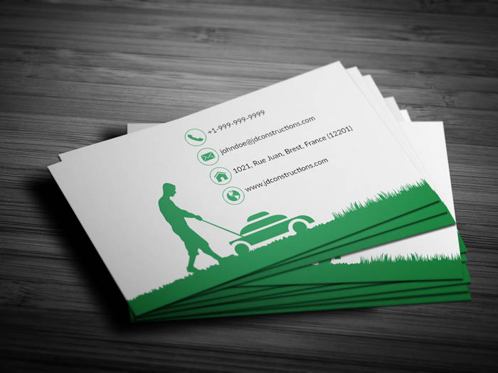 Free landscaping services business card template landscaping services business card front landscaping services business card back colourmoves