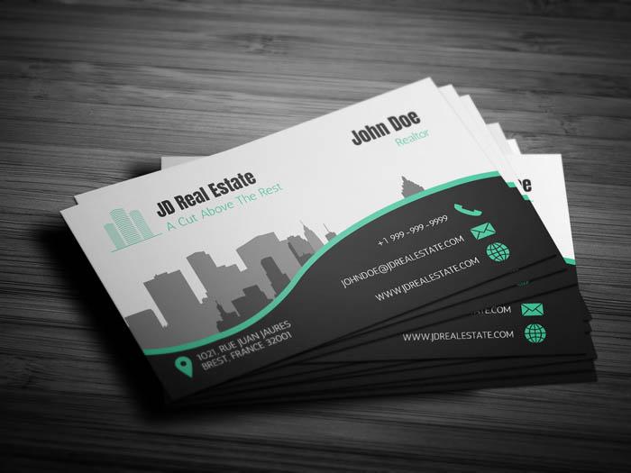 Property Management Business Card - Back