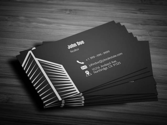 Realty Business Card - Back