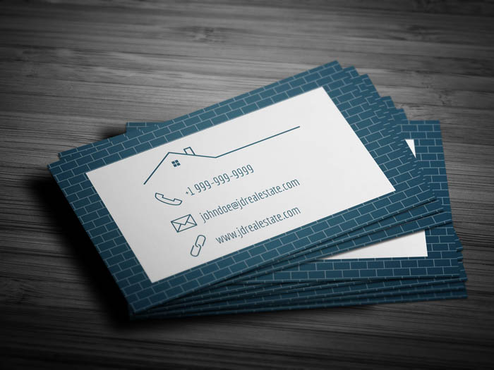 Real Estate Appraisal Business Card - Back