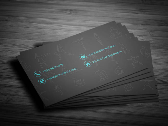 Prenatal Yoga Business Card - Back