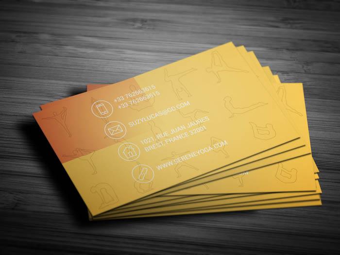 Reiki Business Card - Back