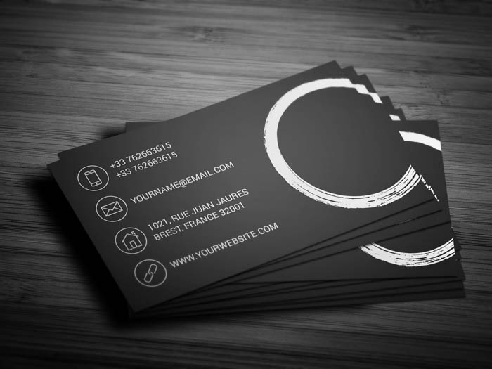 Meditation Business Card - Back