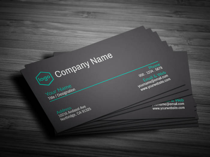 Professional Business Card - Back