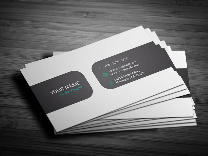 Brand Manager Business Card - Back