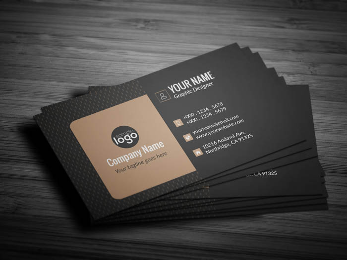 Luxury Business Card - Back