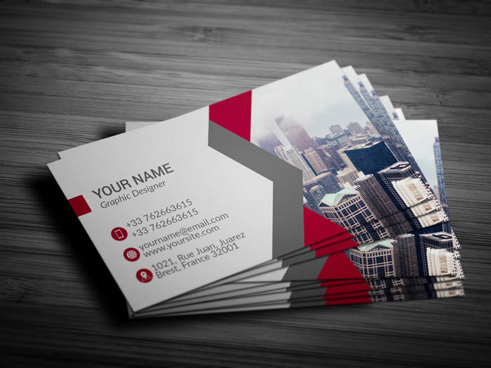 Independent Contractor Business Card - Back