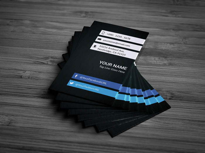Free freelance business card template freelance business card front freelance business card back accmission