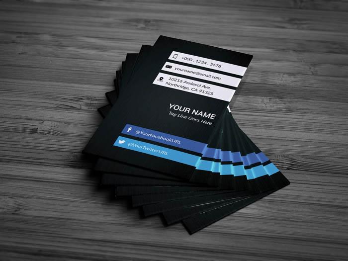 Freelance Business Card - Back