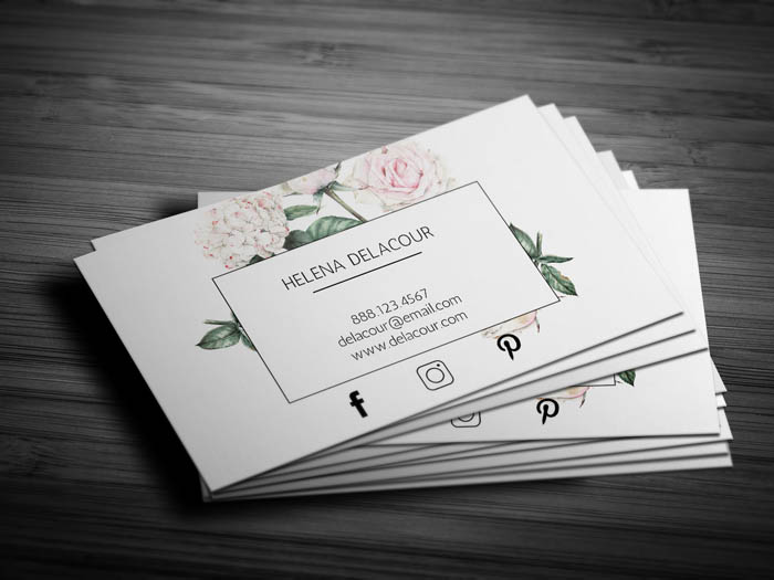 Event Planner Business Card - Back