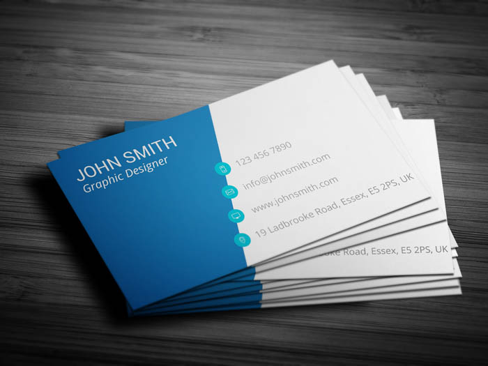 Corporate Event Planning Business Card - Back