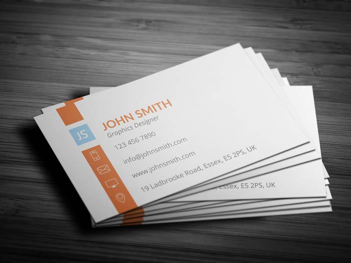 Elegant Designer Business Card - Back