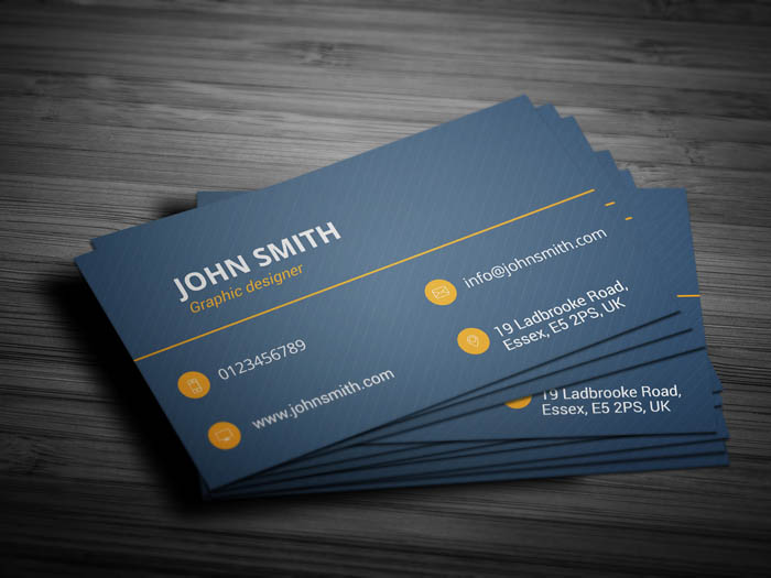 Blogging Business Card - Back
