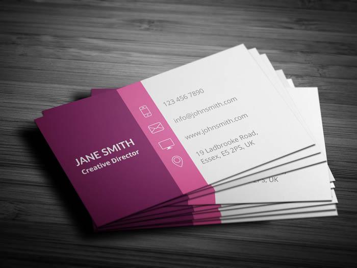 Divorce Lawyer Business Card - Back