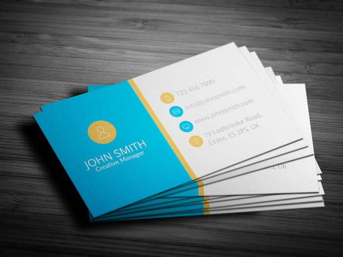 Financial Advisor Business Card - Back