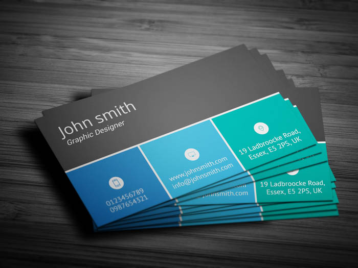 Sales Executive Business Card - Back