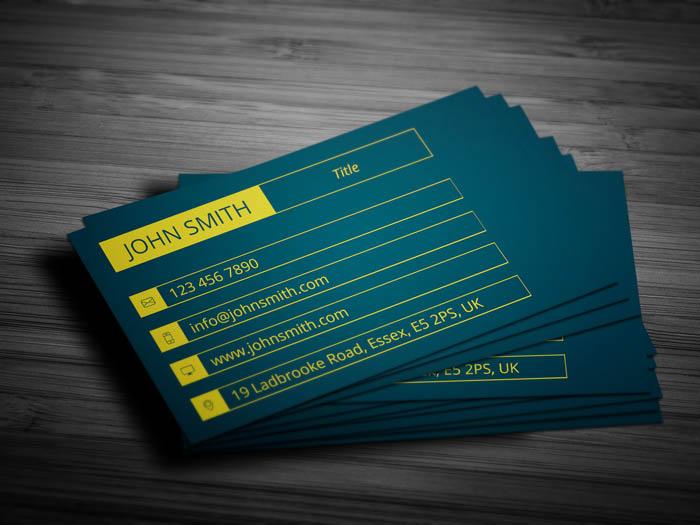 Fashion Designer Business Card - Back
