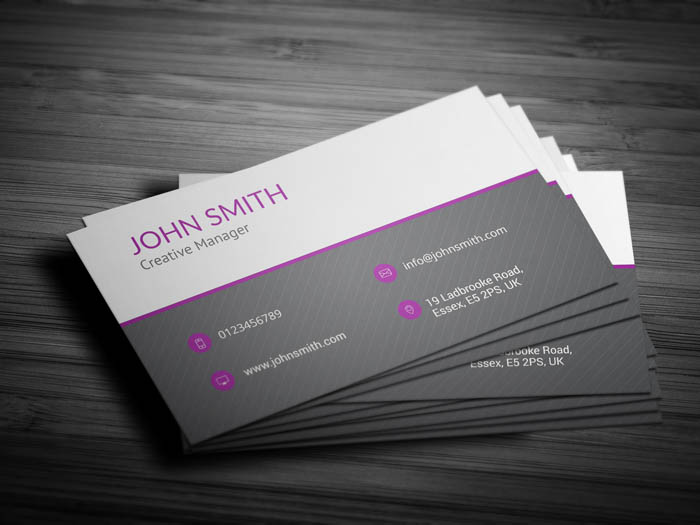 Marketing Business Card - Back