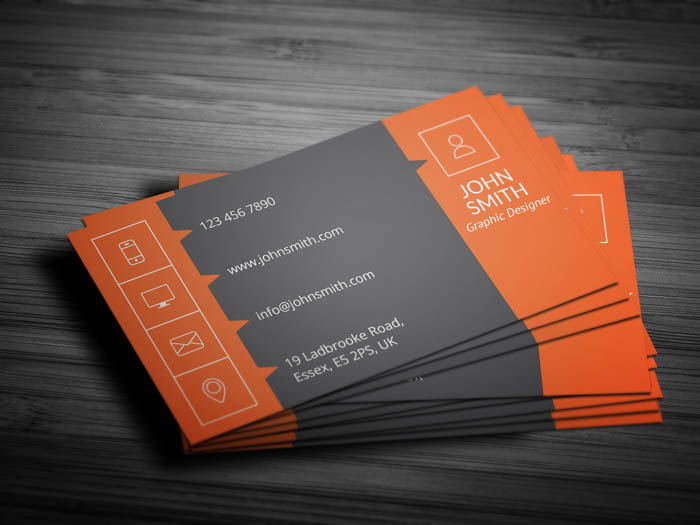 Insurance Agent Business Card - Back