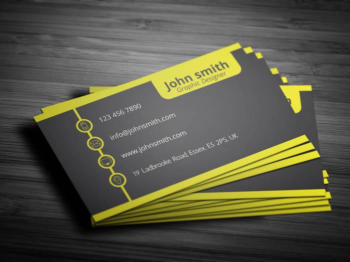 Management Business Card - Back