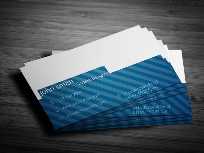 Industrial Designer Business Card - Back