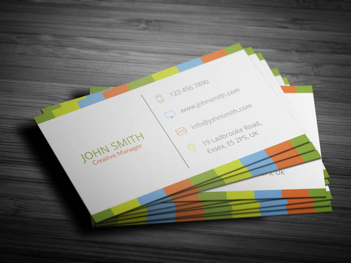 Elegant Boutique Business Card - Back
