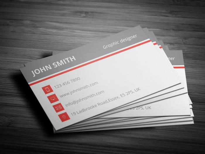 Language Teacher Business Card - Back