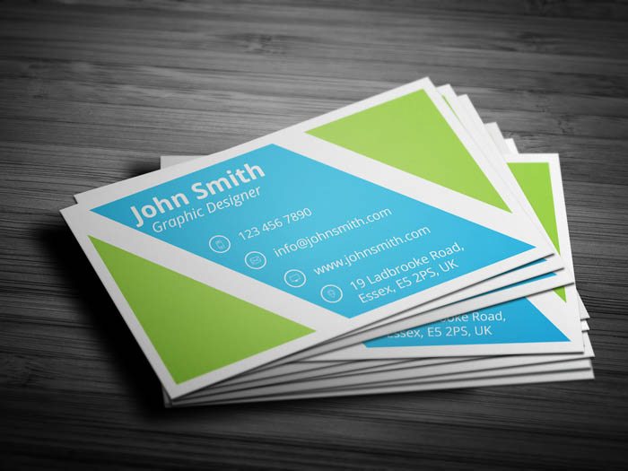 Coach Business Card - Back