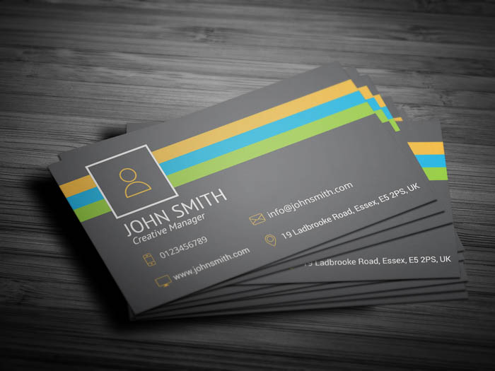 Marketing Manager Business Card - Back