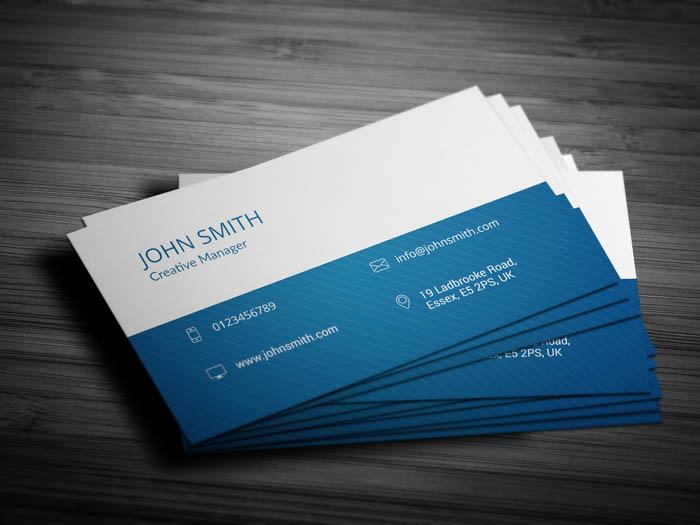 Entrepreneur Business Card - Back