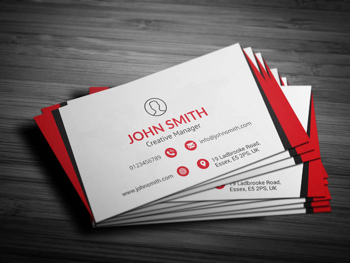 Networking Business Card - Back