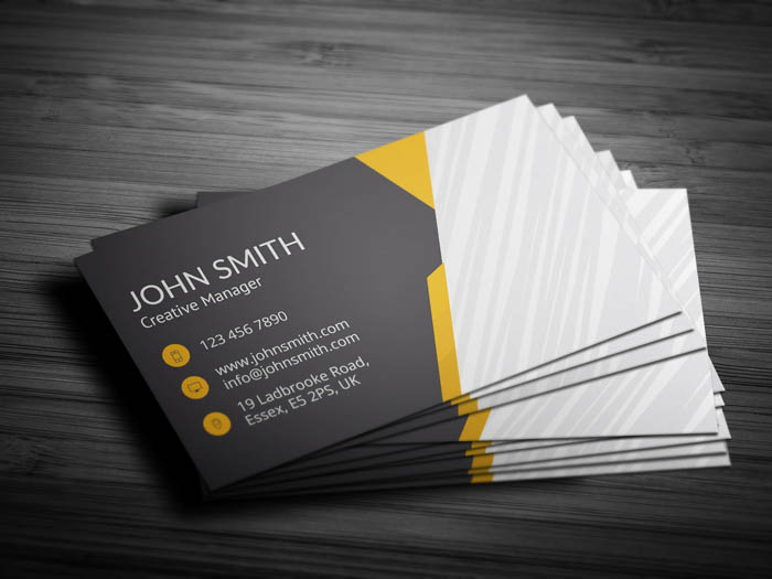 Car Salesman Business Card - Back
