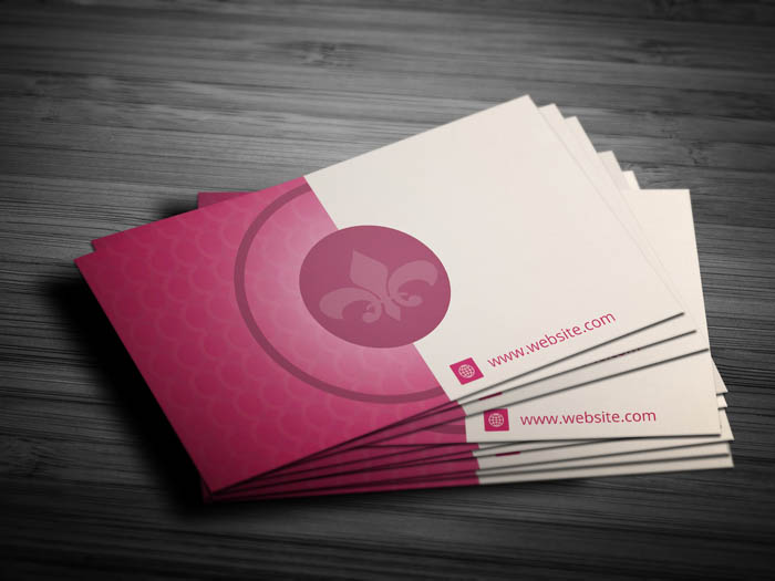 Hotel Business Card - Back