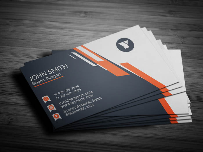 Attorney Business Card - Back