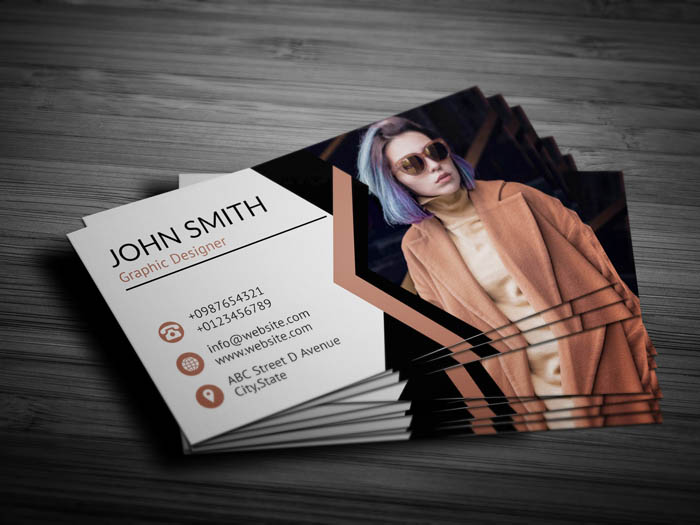 Fashion Blogger Business Card - Back