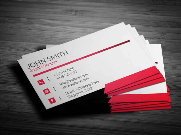 Ad Agency Business Card - Back