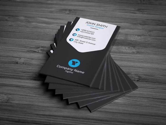 Freelancer Business Card - Back