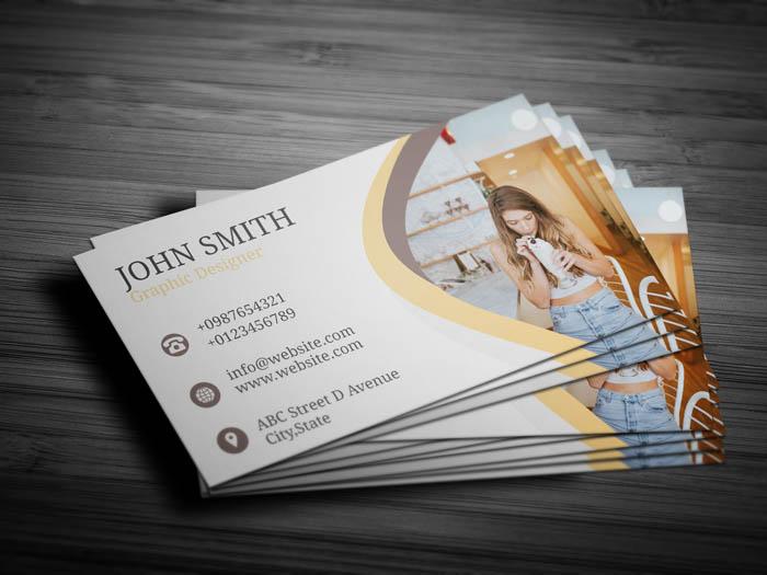 Digital Marketer Business Card - Back