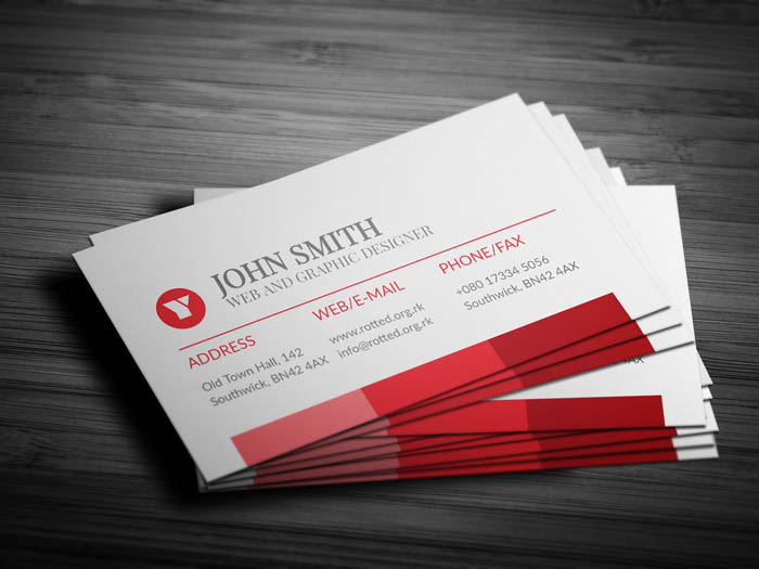 Event Specialist Business Card - Back