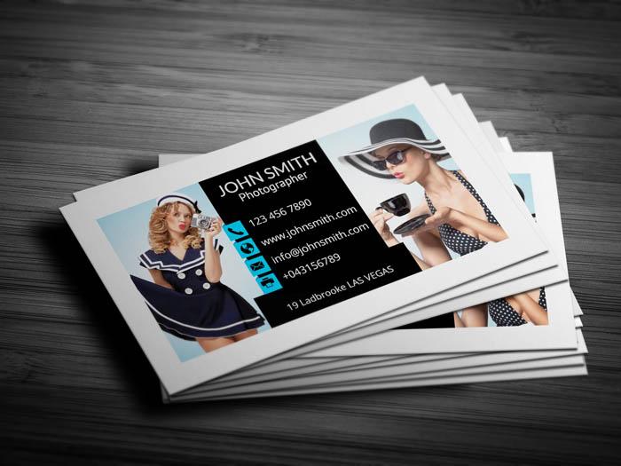 Cinematographer Business Card - Back