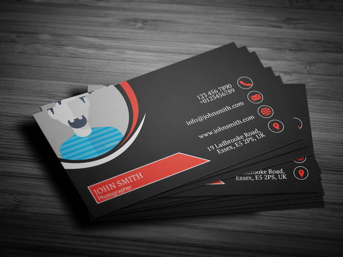 Awesome Photography Business Card - Back