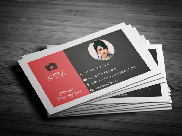 Free Real Estate Photography Business Card