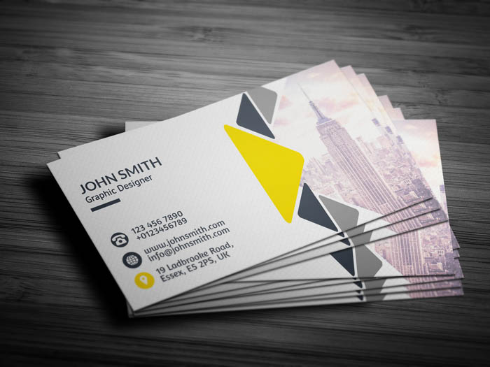Luxury Real Estate Business Card - Back