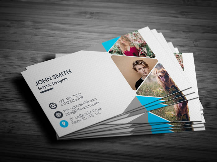 Professional Photography Business Card - Back