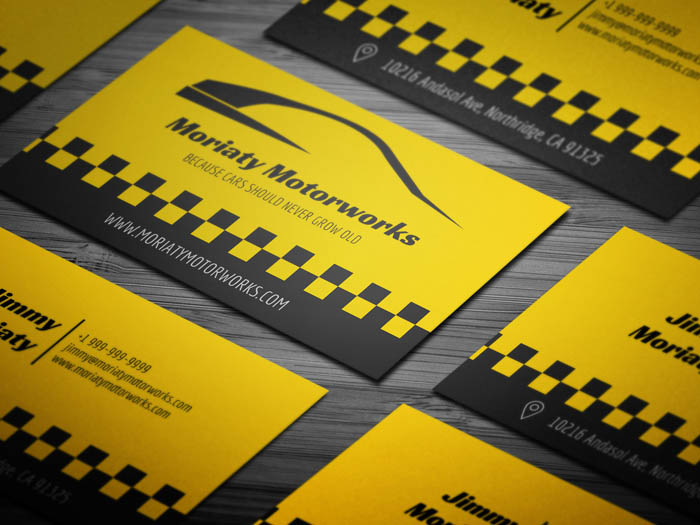 Car Business Card